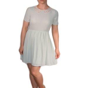 ONE CLOTHING babydoll floral midi dress
